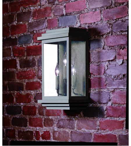 Corbett Lighting 3444-1-02 La Jolla 3 Light 20 inch Old Bronze Outdoor Wall Lantern photo
