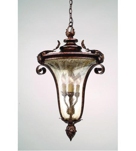 Corbett Lighting Pirouette 4 Light Outdoor Hanging Lantern in Venetian 35-93 photo