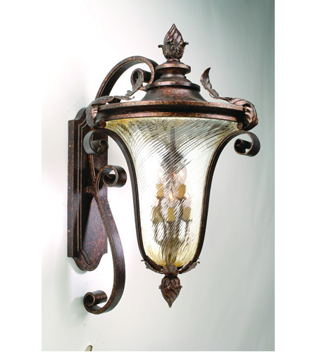 Corbett Lighting Pirouette 6 Light Outdoor Wall Lantern in Venetian 35-94 photo