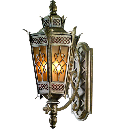 Corbett Lighting Avignon 4 Light Outdoor Wall Lantern in Avignon Bronze 58-23 photo