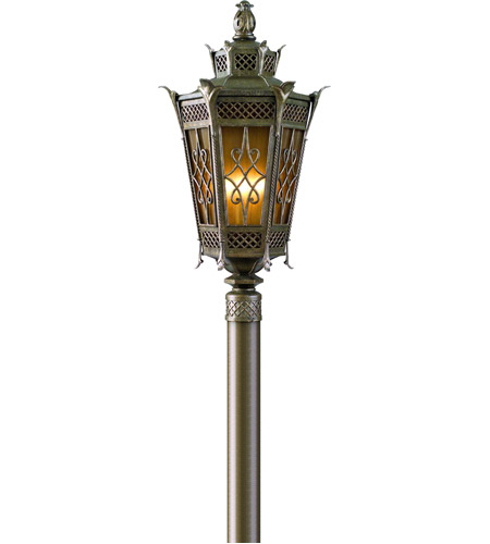 Corbett Lighting Avignon 2 Light Outdoor Post Lantern Fluorescent in Avignon Bronze 58-83-F photo