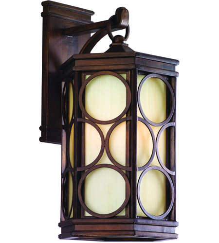Corbett Lighting Holmby Hills 1 Light Outdoor Wall Lantern Fluorescent in Holmby Hills Bronze 61-23-F photo