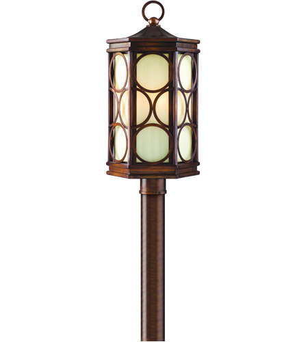 Corbett Lighting Holmby Hills 4 Light Outdoor Post Lantern in Holmby Hills Bronze 61-84 photo