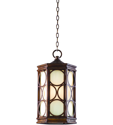 Corbett Lighting Holmby Hills 4 Light Outdoor Hanging Lantern in Holmby Hills Bronze 61-92 photo