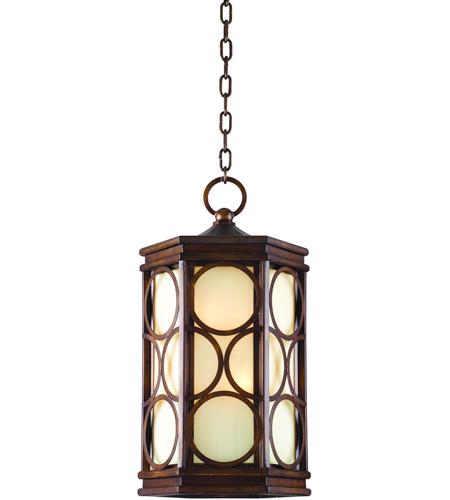 Corbett Lighting Holmby Hills 1 Light Fluorescent Outdoor Hanging Lantern in Holmby Hills Bronze 61-93-F photo