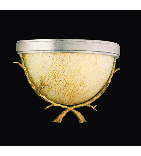 Corbett Lighting Parc Royale 1 Light Wall Sconce in Gold And Silver Leaf 66-11 photo