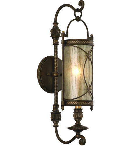 Corbett Lighting St. Moritz 1 Light Wall Sconce in Moritz Bronze 67-11 photo