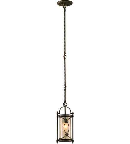 Corbett Lighting St. Moritz 1 Light Mini-Pendant in Moritz Bronze 67-41 photo