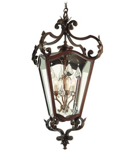 Corbett Lighting St Tropez 4 Light Outdoor Hanging Lantern In Antique Bronze 75 93