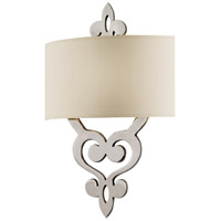 Corbett Lighting Olivia 2 Light Wall Sconce in Polished Nickel 102-12