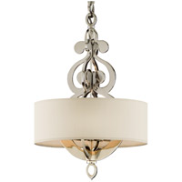 Olivia 4 Light 17 inch Polished Nickel Pendant Ceiling Light