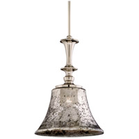 Argento 1 Light 15 inch Polished Nickel Bar Mini Pendant Ceiling Light