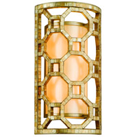 Corbett Lighting Regatta 2 Light Wall Sconce in Stained Silver Leaf 104-12