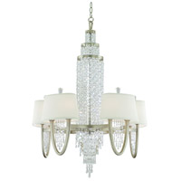 Corbett Lighting Viceroy 10 Light Chandelier in Antique Silver Leaf 106-010