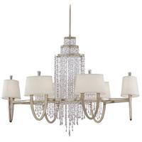 Corbett Lighting 106-012 Viceroy 12 Light 29 inch Antique Silver Leaf Chandelier Ceiling Light