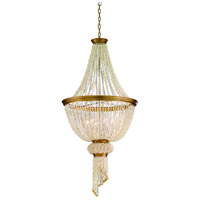 Corbett Lighting Bali 6 Light Pendant Entry in Champagne Leaf 107-77