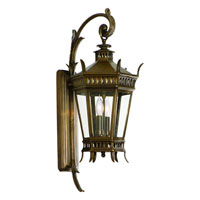 Corbett Greenwich 2 Light Exterior Wall Lantern In Historic Brass 108-21