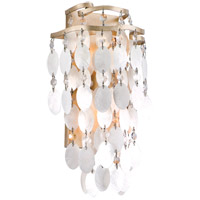 Dolce 2 Light 9 inch Champagne Leaf Wall Sconce Wall Light
