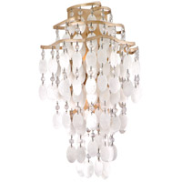 Corbett Lighting Dolce 2 Light Wall Sconce in Champagne Leaf 109-12