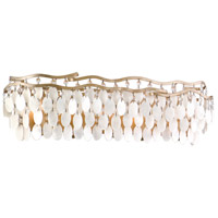 Dolce 5 Light 28 inch Champagne Leaf Bath Wall Light