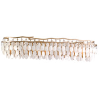 Dolce 15 Light 42 inch Champagne Leaf Bath Wall Light