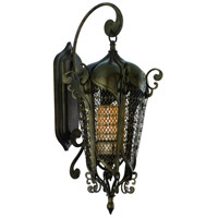 Tangiers 10 Light 32 inch Tangiers Bronze Outdoor Wall Lantern