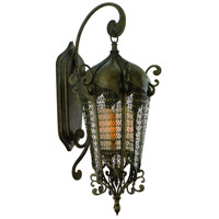 Tangiers 13 Light 43 inch Tangiers Bronze Outdoor Wall Lantern