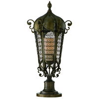 Tangiers 2 Light 42 inch Tangiers Bronze Outdoor Post Lantern