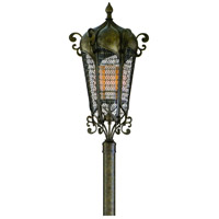 Corbett Lighting Tangiers 5 Light Outdoor Post Lantern in Tangiers Bronze 110-83