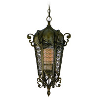 Corbett Lighting Tangiers 2 Light Outdoor Pendant in Tangiers Bronze 110-92