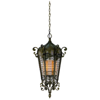 Corbett Lighting Tangiers 5 Light Outdoor Pendant in Tangiers Bronze 110-93 photo thumbnail