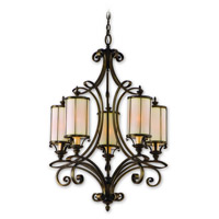 Corbett Lighting Montecito 9 Light Chandelier in Montecito Bronze 112-05