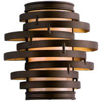 Corbett Lighting Vertigo 1 Light Wall Sconce in Bronze / Gold Leaf 113-11