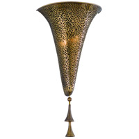 Corbett Lighting Nirvana 2 Light Wall Sconce in Bombay Brass 118-12