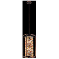 Corbett Lighting Karma 6 Light Pendant Entry in Tranquil Bronze 120-76