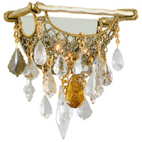 Corbett Lighting 125-12 Barcelona 2 Light 11 inch Silver and Gold Leaf Wall Sconce Wall Light