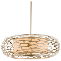 Cesto 5 Light 24 inch Modern Silver Pendant Ceiling Light
