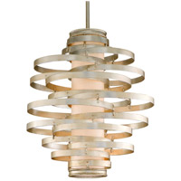 Corbett Lighting Vertigo 3 Light Pendant in Modern Silver 128-43