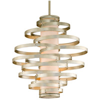 Corbett Lighting Vertigo 4 Light Pendant in Modern Silver 128-44-F