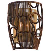 Corbett Lighting 129-12 Havana 2 Light 10 inch Two Tone Natual Wood Wall Sconce Wall Light photo thumbnail