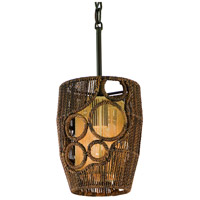 Corbett Lighting Havana 1 Light Mini-Pendant in Two Tone Natual Wood 129-40 photo thumbnail