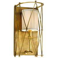 Corbett Lighting Argyle 1 Light Wall Sconce in Aged Brass 13-11