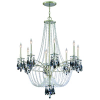 Corbett Lighting La Scala 8 Light Chandelier in Silver Leaf Finish 133-08