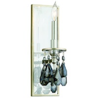 Corbett Lighting La Scala 1 Light Wall Sconce in Silver Leaf Finish 133-11