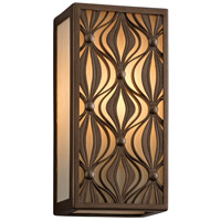 Corbett Lighting Mambo 1 Light Wall Sconce Fluorescent in Mambo Bronze 135-12-F