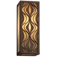 Corbett Lighting Mambo 1 Light Wall Lantern Fluorescent in Mambo Bronze 135-21-F