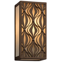 Corbett Lighting Mambo 1 Light Wall Lantern Fluorescent in Mambo Bronze 135-22-F