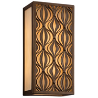 Corbett Lighting Mambo 1 Light Wall Lantern Fluorescent in Mambo Bronze 135-23-F