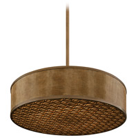 Mambo 8 Light 44 inch Mambo Bronze Pendant Fluorescent Ceiling Light