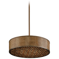 Mambo 5 Light 26 inch Mambo Bronze Pendant Fluorescent Ceiling Light